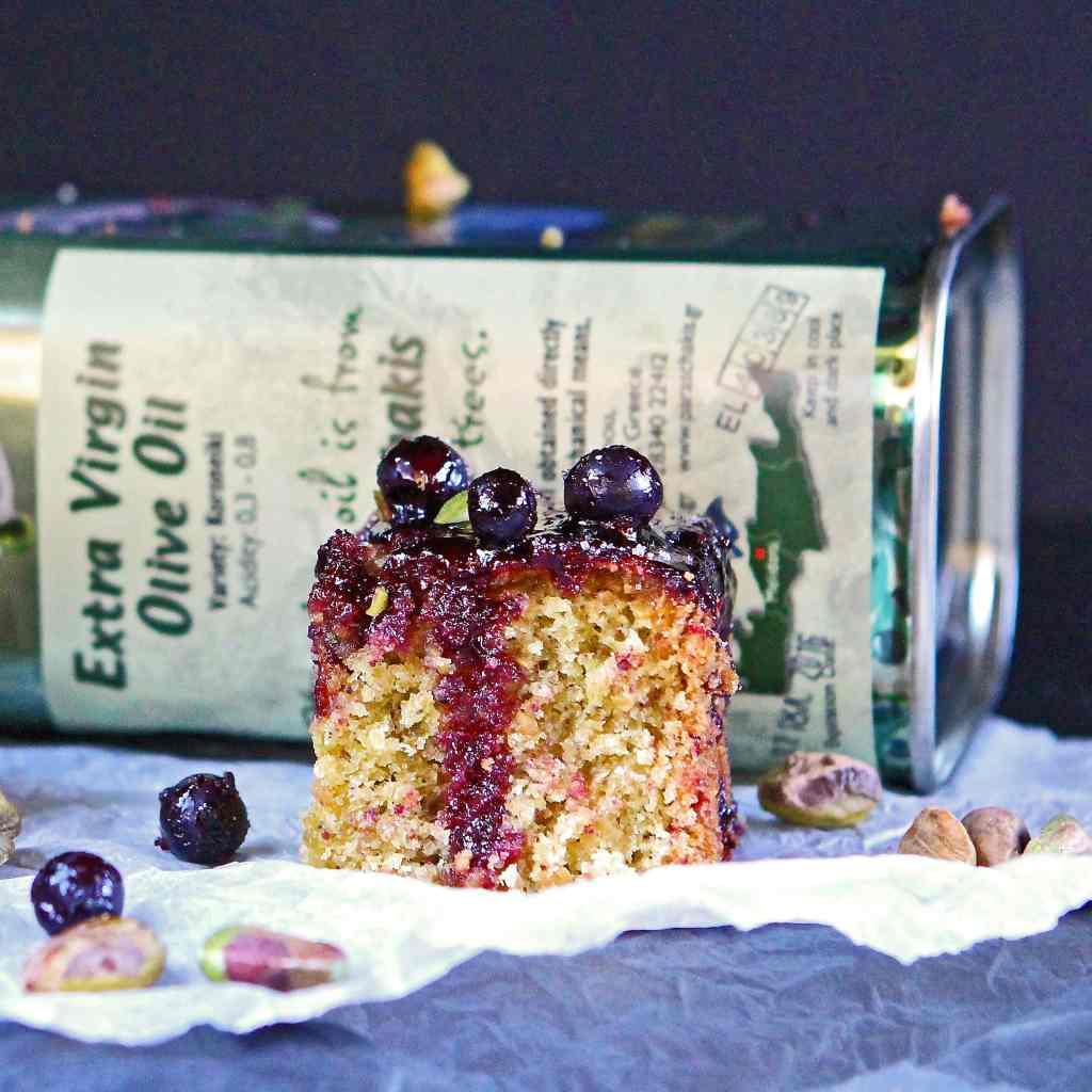 gluten-free-olive-oil-cake-blackcurrant-drizzle