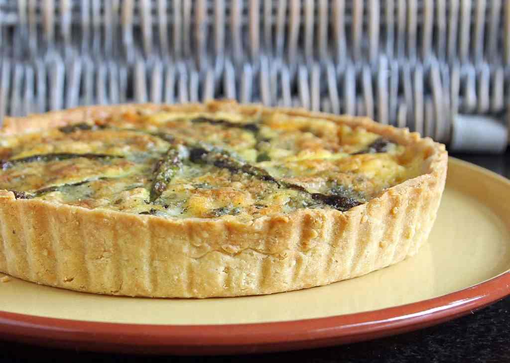 asparagus-quiche-with-stilton-gluten-free