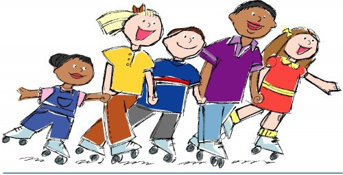 roller-skating-children
