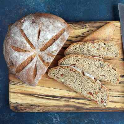 Walnut Bread with Sun Dried Tomato – Gluten Free with Attitude