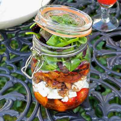 Picnic Salad Jar Recipe – And How to Make it YOUR Way