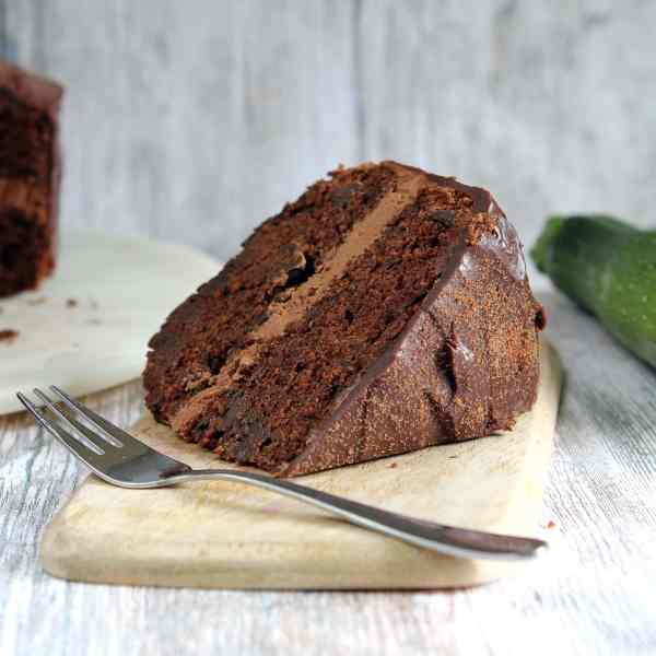 Chocolate Courgette Cake – A Deliciously Fudgy Gluten Free Recipe