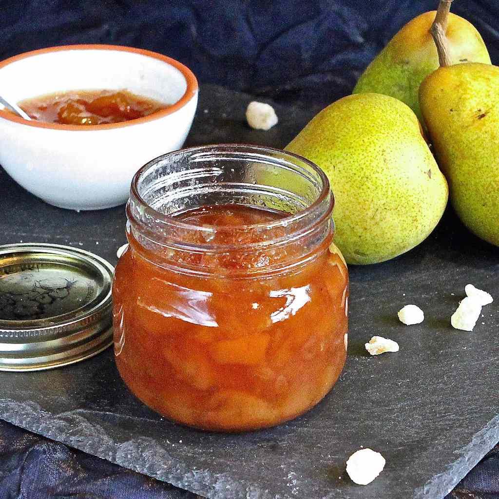 brown-sugared-pear-ginger-jam
