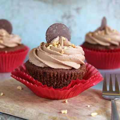 Nutella Cupcakes – The ULTIMATE Gluten Free Recipe