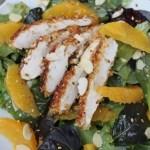 Asian Orange Chicken Salad1