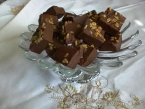 Chocolate Cheese Fudge 4