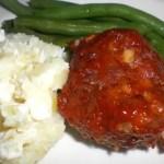 Gluten Free Meatloaf Portions2