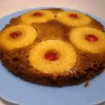 Pinapple Upside Down Cake2