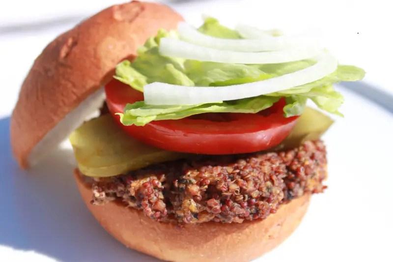 Quinoa Burger1