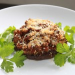 Sausage Stuffed Portabello Mushrooms2