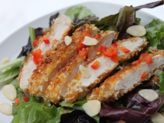Sesame Chicken Salad Red Pepper1