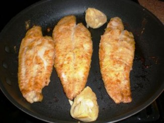 Sole Fillets Fish Fry