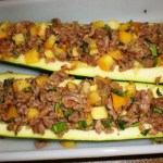 Stuffed Zuchinni with Turkey2