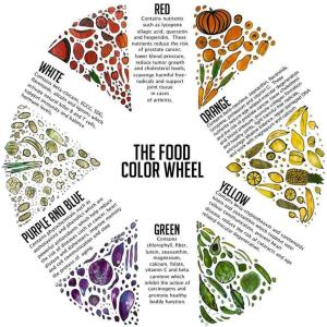 the-food-color-wheel