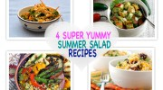 4 SUPER YUMMY EASY SUMMER SALAD RECIPES