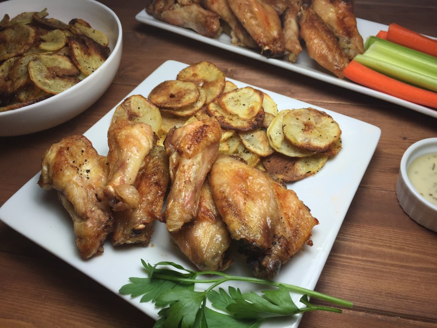gluten free chicken wings