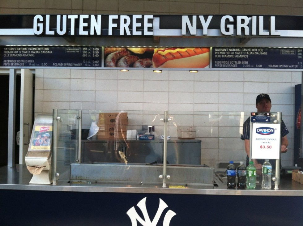 Gluten Free at the Ballgame