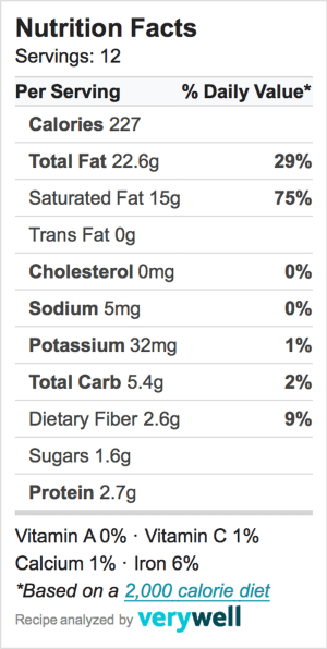 Coconut Bars Nutrition-Label-Embed