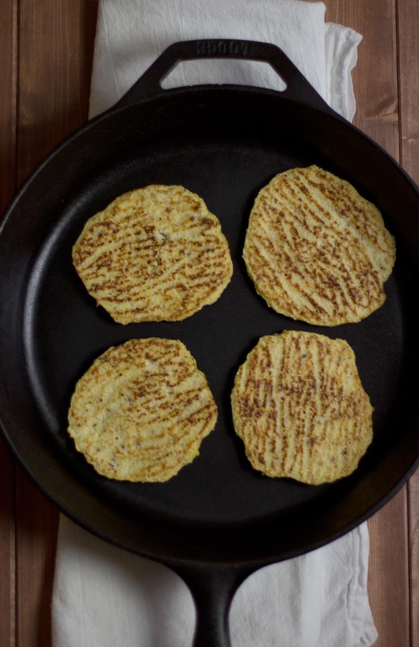 Gluten Free Cauliflower Flatbreads