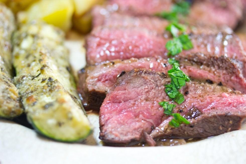 How To, Pan Seared Flat Iron Steak, steak, gluten free, paleo