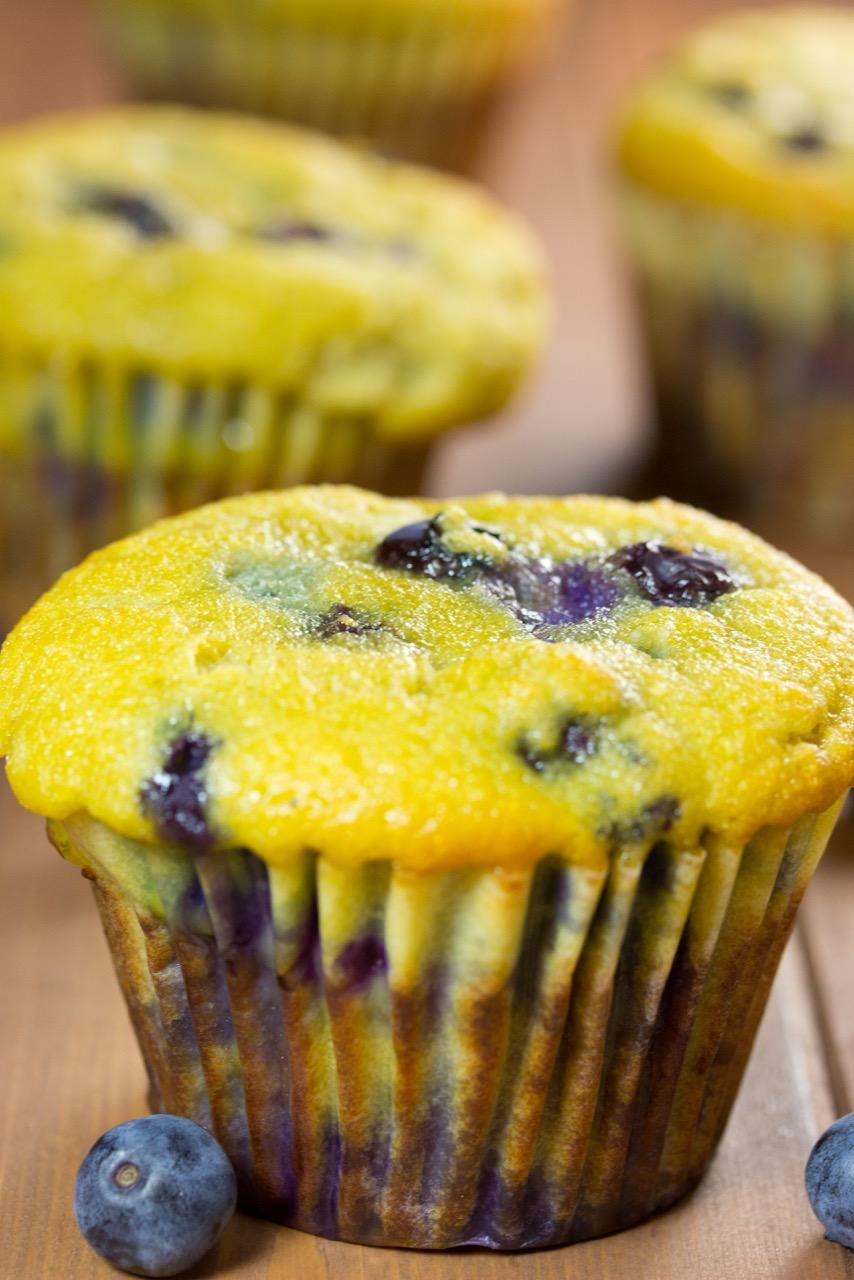 Grain-free, Blueberry Muffins, gluten free muffin, paleo muffin, coconut flour, organic berries