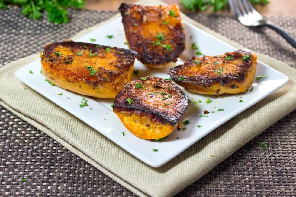 Parmesan Baked Sweet Potatoes | sweet potatoes recipe | gluten free recipe | paleo recipe | nutrition | nutritious recipe