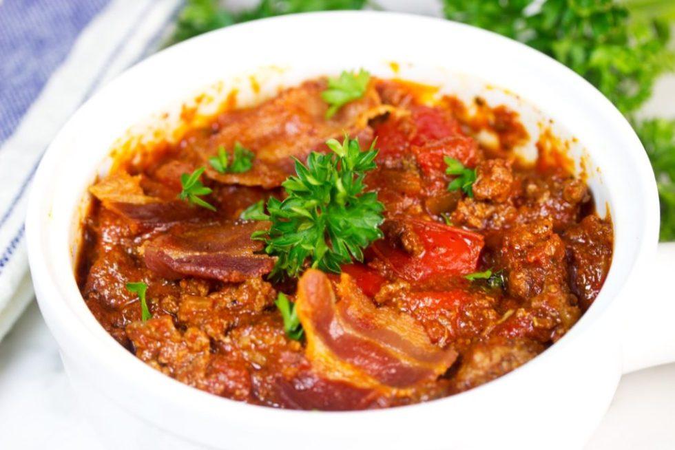 slow cooker chili recipe | beef recipe | slow cooker recipe | gluten free recipe | paleo recipe
