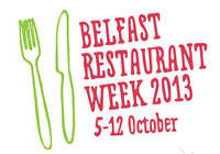 Belfast Restaurant Week 2013