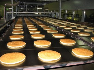 TSA Griddle Systems pancake conveyor