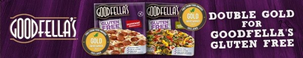 Goodfellas Gluten Free Pizza double gold award