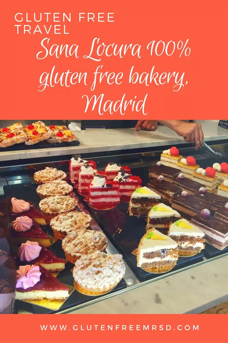 Gluten free bakery Madrid