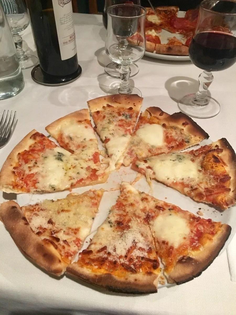 gluten free pizza Rome Italy