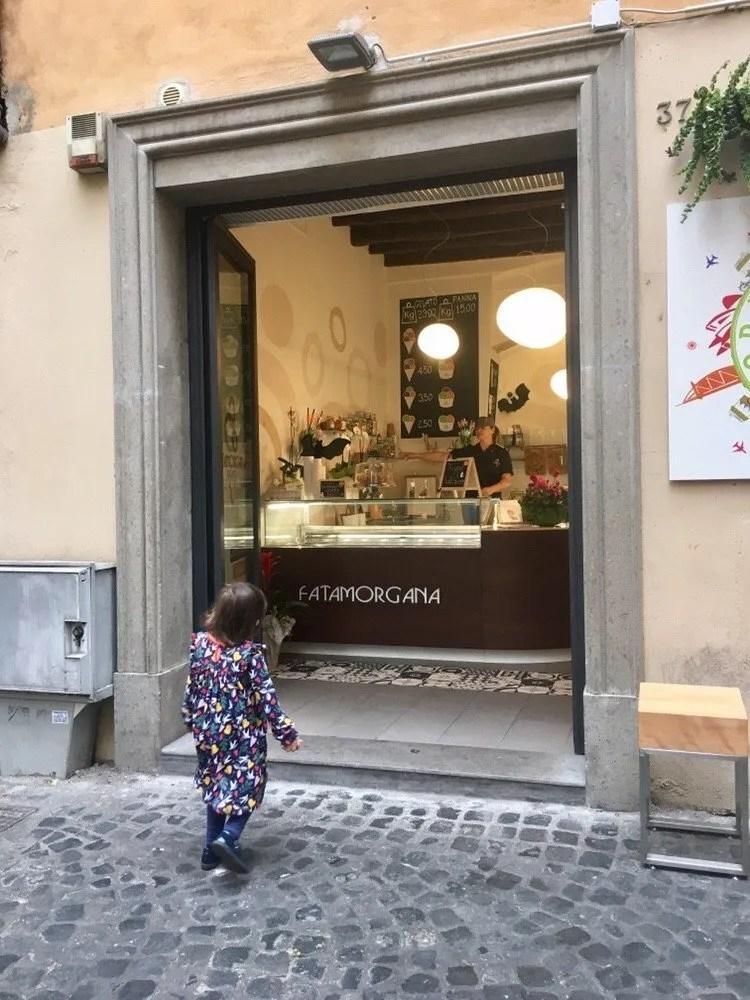 adventures of a gluten free globetrekker Eating Gluten Free in Rome: Gelateria Fatamorgana Italy Rome  Senza Glutine Roma gluten free Rome