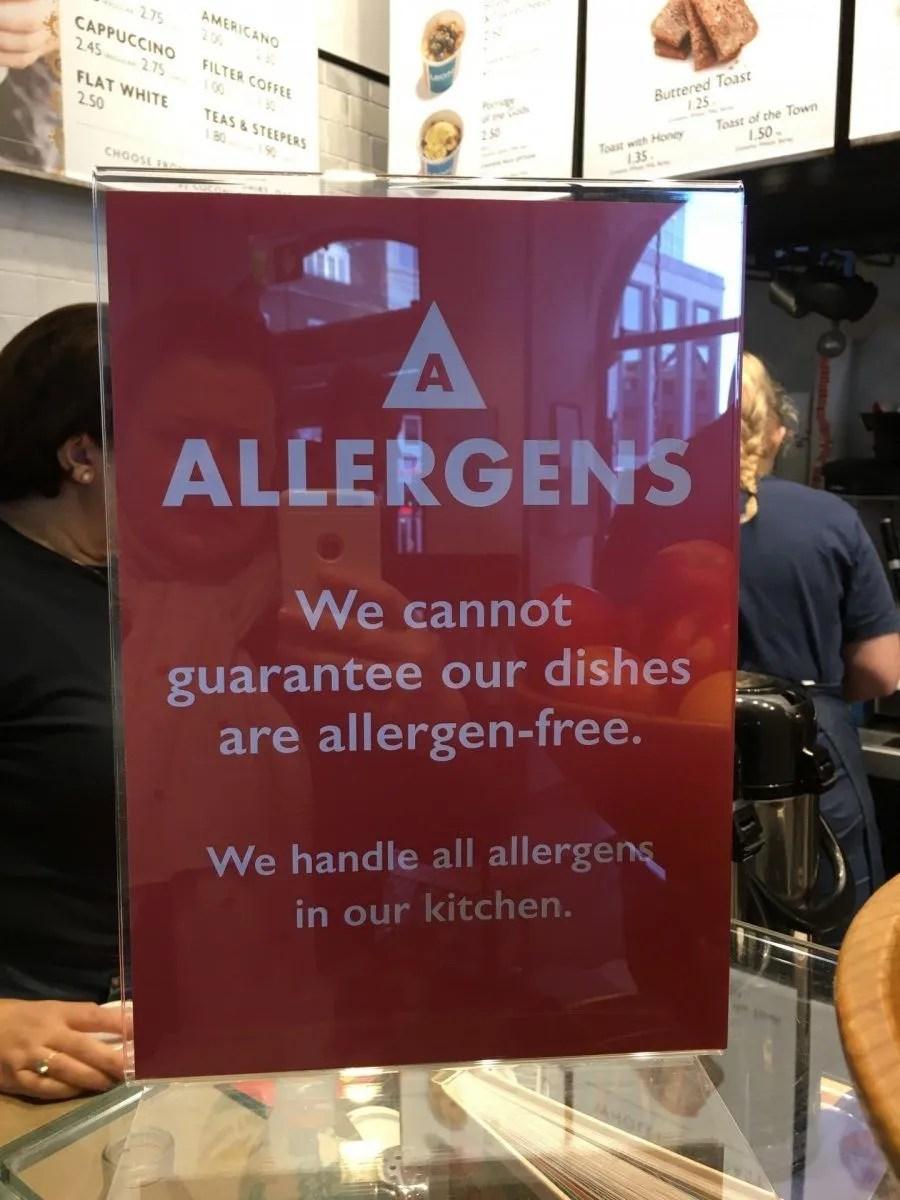 adventures of a gluten free globetrekker After Pret, Where To Next For Allergy Labelling? Gluten Free News Gluten Free Travel UK  gluten free UK