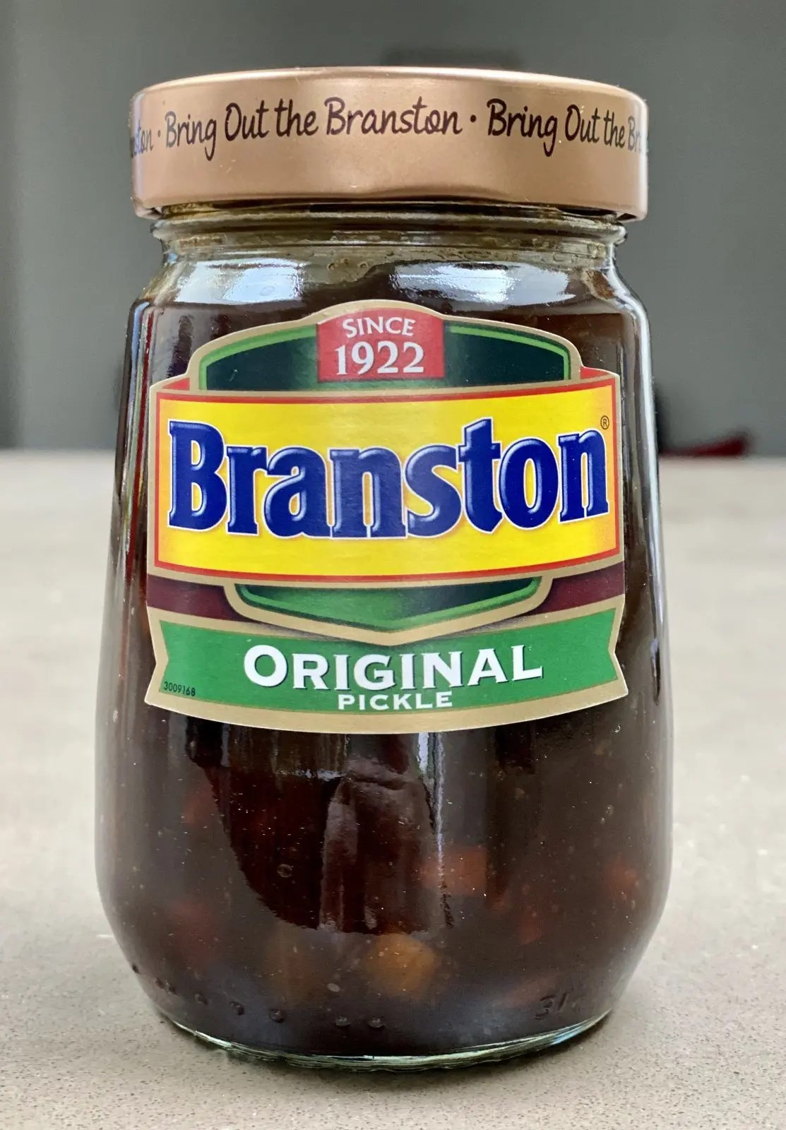 Branston pickle is gluten free