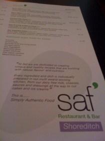 adventures of a gluten free globetrekker Saf Restaurant: Gluten Free & Raw Food Gluten Free Vegetarian