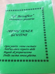 adventures of a gluten free globetrekker Gluten Free San Marino: Pizzeria Il Beccafico Gluten Free Italy San Marino