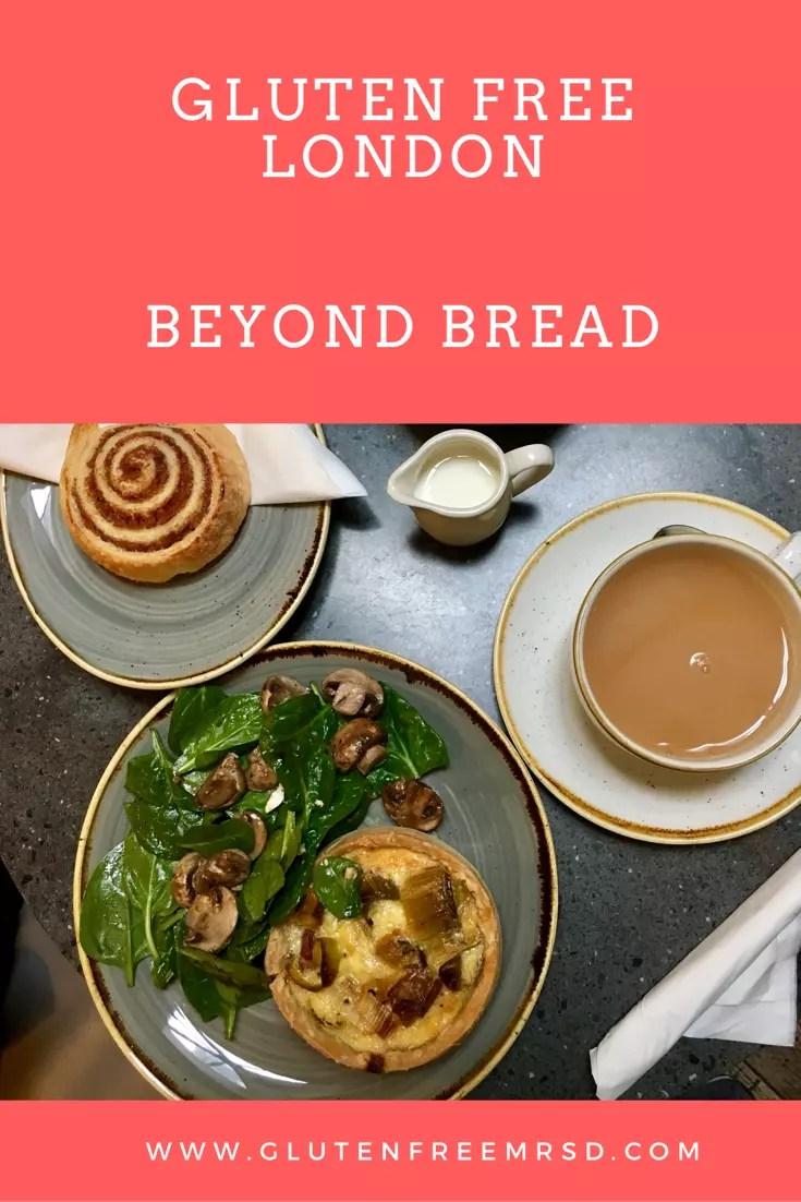 Beyond Bread London gluten free Restaurant