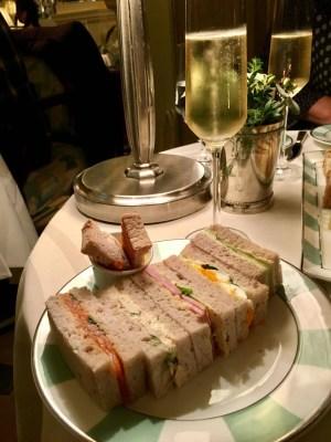 adventures of a gluten free globetrekker gluten free afternoon tea Claridges Hotel