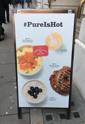 adventures of a gluten free globetrekker Pure - London