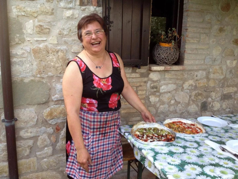 gluten free pizza Umbria