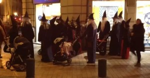 adventures of a gluten free globetrekker Family of witches, Bilbao