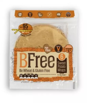 adventures of a gluten free globetrekker bFree Sweet Potato wraps