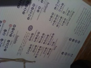 adventures of a gluten free globetrekker zizzi menu
