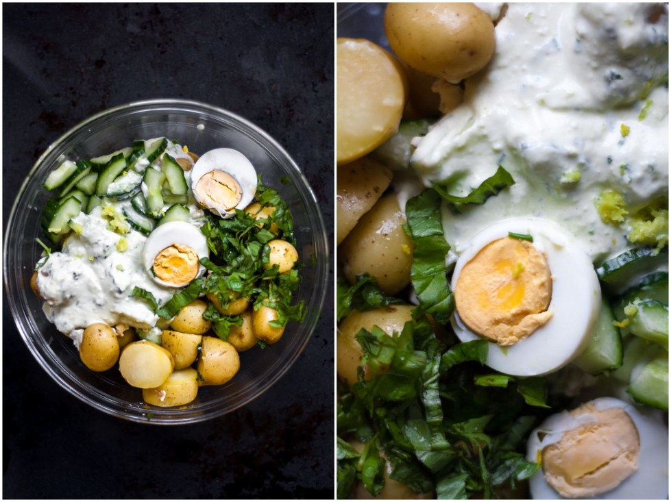 This Low FODMAP Creamy Potato salad is flavorful, light, refreshing, tangy and so delicious.