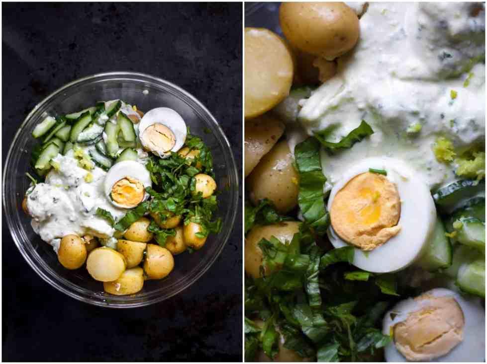 Low FODMAP Creamy Potato Salad