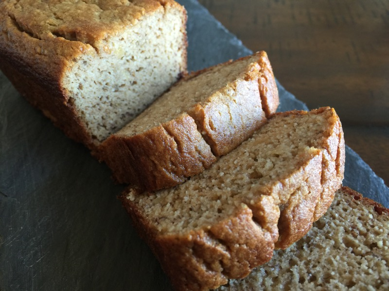 A Thick Slice of Grain-free Banana Bread