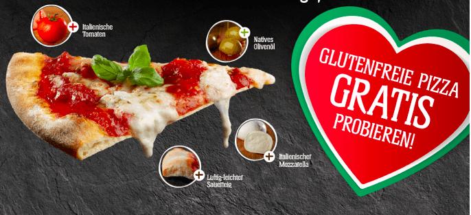 Schär Pizza gratis
