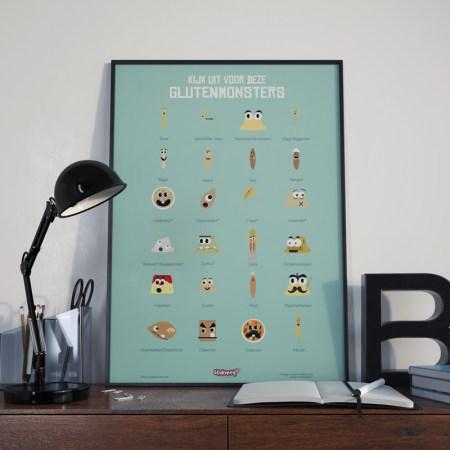 glutenvrije poster
