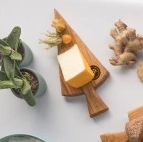 glutenvrije broodplank gebaksbordje